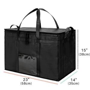reusable grocery bag insulated