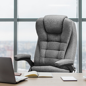Ergonomic Heated Vibrating Chairs