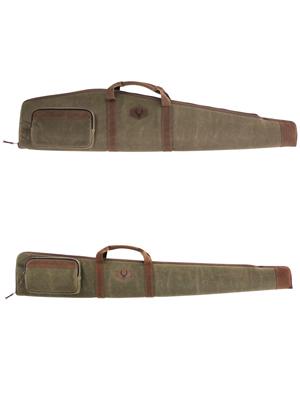 Rawhide Waxed Canvas Rifle or Shotgun Case for Hunting Season - Evolution Outdoor Gun Cases