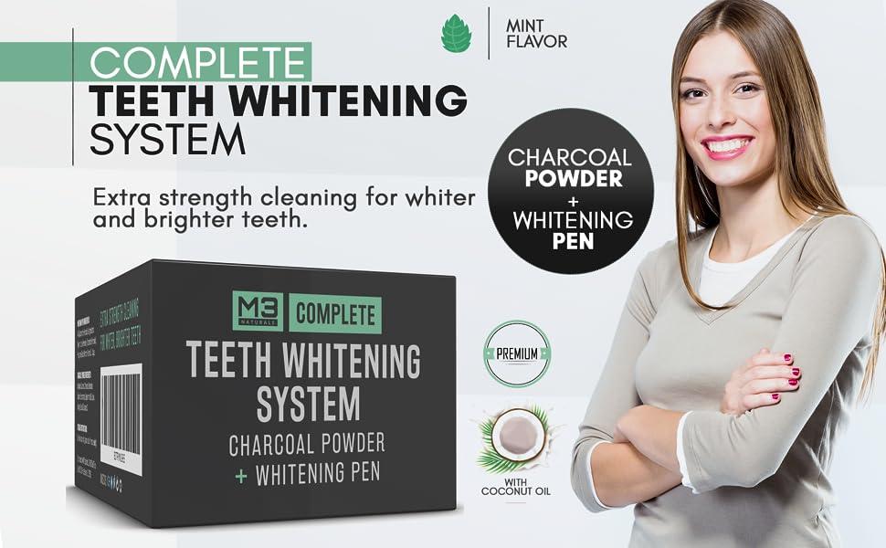 teeth whitening set