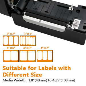 Suitable for Labels with Different Size