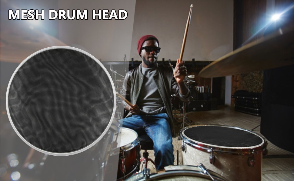 Drum Mesh Heads
