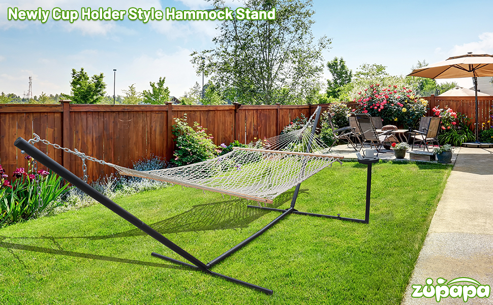 2 people hammock stand