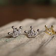 dainty earrings for teen girls