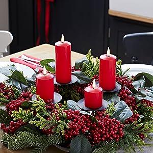 Xmas decor,christmas decorations,artificial wreath,holiday decorations,christmas table decorations