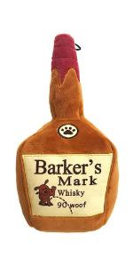 huxley and kent barker's mark plush dog toy lulubelles