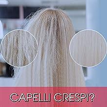 Spray Termoprotettore Capelli Cocco Trattamento Senza Risciacquo Secchi Anticrespo Protezione UV