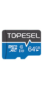 Tarjeta Micro SD 32GB, TOPESEL Tarjeta Memoria Alta ...