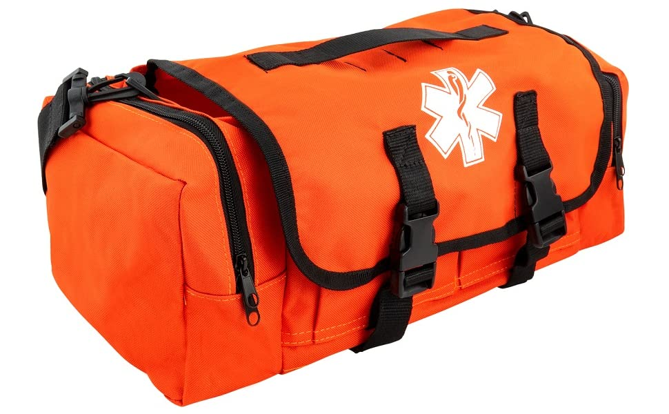 emergency bags supplies firefighter gear trauma ambulance fire supply lifeguard traumas responders