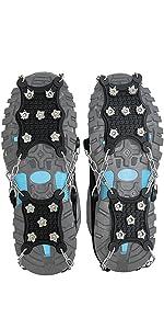 para Mujer para Senderismo en la Nieve c/álidas Ligeras Caza Polainas para piernas para Caminar Impermeables Zhongtou Polainas para Hombre Escalada y Correr Raquetas de Nieve