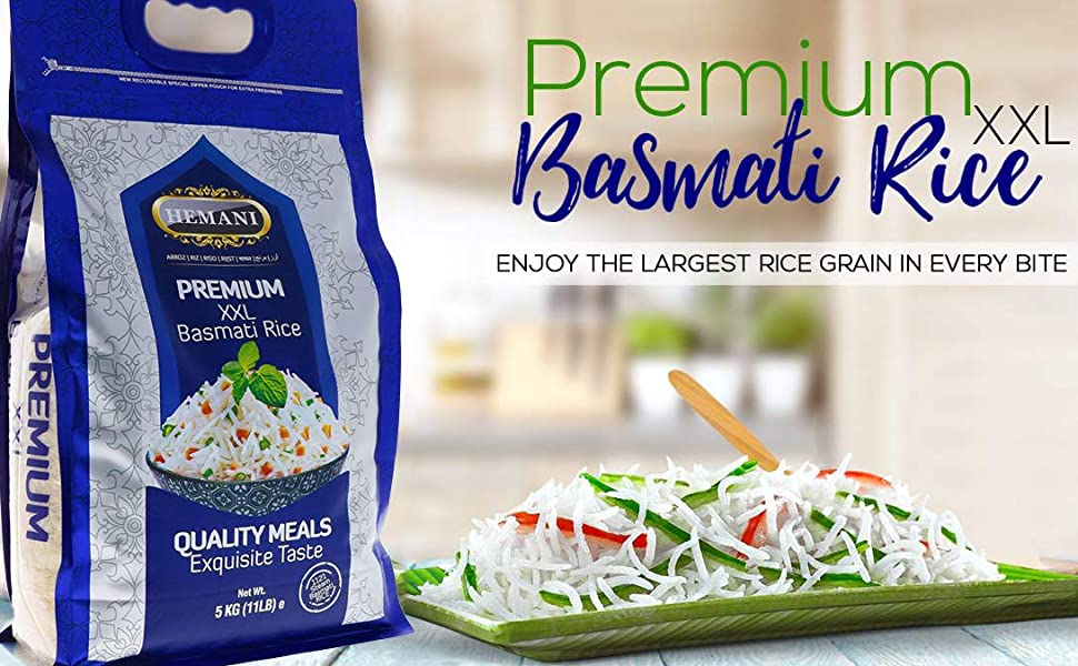 premium basmati rice hemani xxl 1121 grain long
