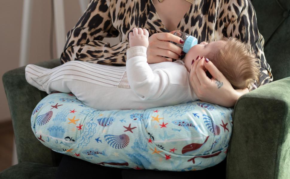 Nursing Pillow for breastfeeding and bottle feeding