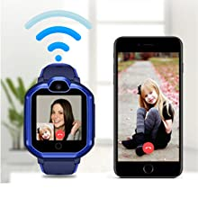 wifi connect watch can 2 ways call GPS tracker watch find my baby christmas gifts kids smartwatch