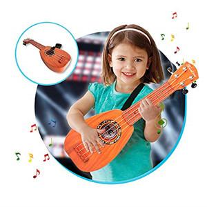 """17"""" kids ukulele with strap"""