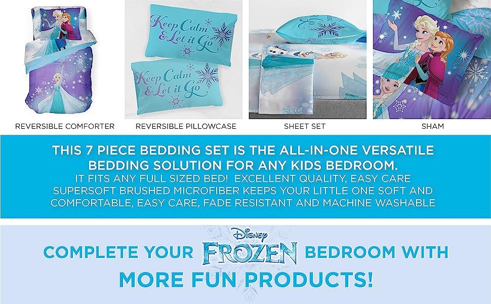 Frozen, Bed Set, Sheet Set