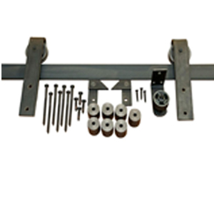 barndoor hardware kit for sliding door DIY home decor decorations glides smoothly and silently