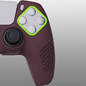 controller grip for ps5 silicone skins controller thumb grips caps for PlayStation 5 silicone case