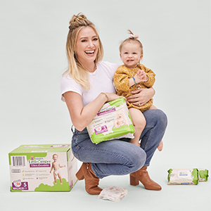 Happy Little Camper diapers and wipes