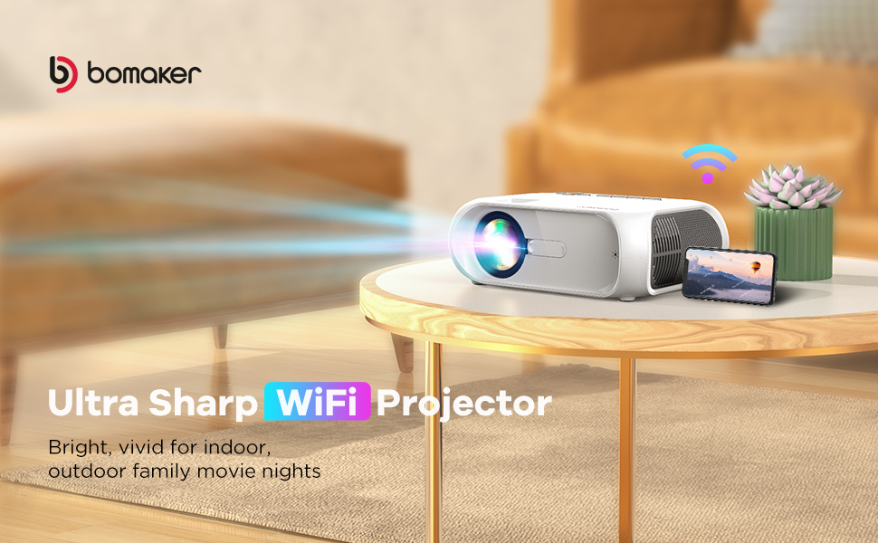 outdoor projector for movie