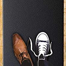 zapatos en cinta de correr