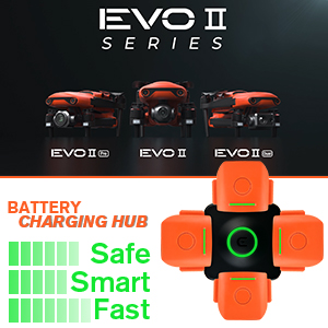EVO 2 Batteries Multi Charger- Safe, Fast and Smart Charging