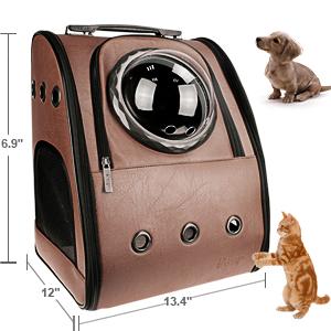Pet carrier dog feeder