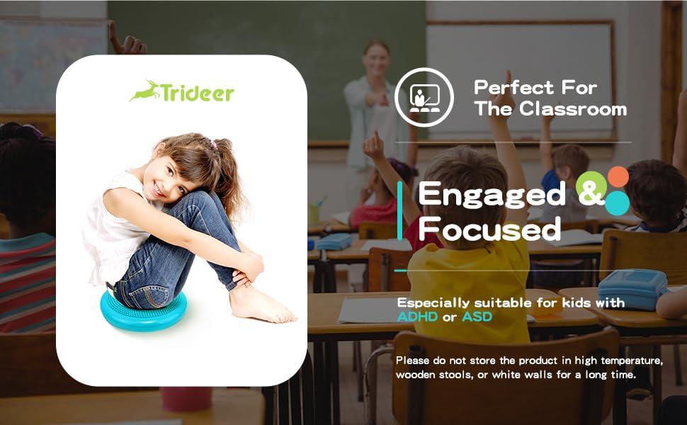 Core Balance Disc, Wiggle Seat for Sensory Kids