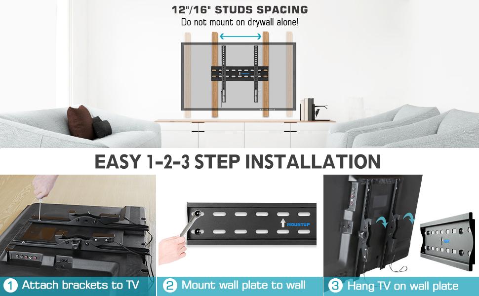 tv mount 43 inch wall mount wall mount brackets