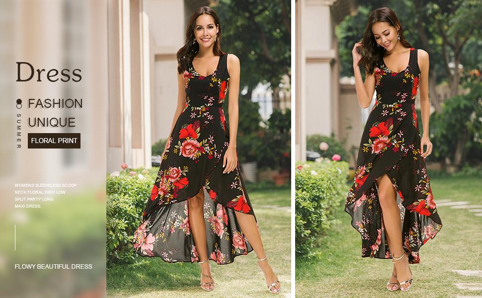 high low long dress