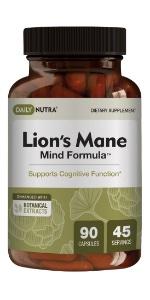 Lion's Mane Mind Formula