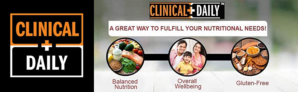 Clinical Daily Logo above images of the Complete Adult Gummy Multivitamin Benefits