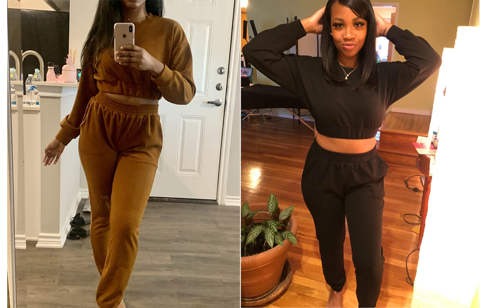coffee two piece outfits