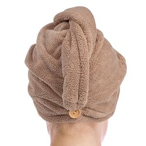Microfiber Hair Towel Wrap Rapid Drying Hair Towels for Women, Magic Hair Drying Towel Hat BEoffer