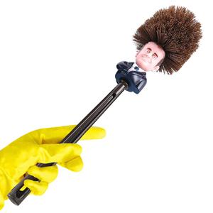 Mobi Lock Cepillo de Inodoro de Emmanuel Macron - Limpiador de ...