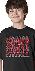 Nebraska Cornhuskers Youth Boys T-Shirt