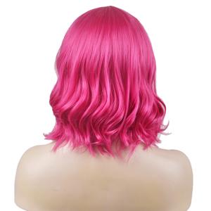 hot pink wig