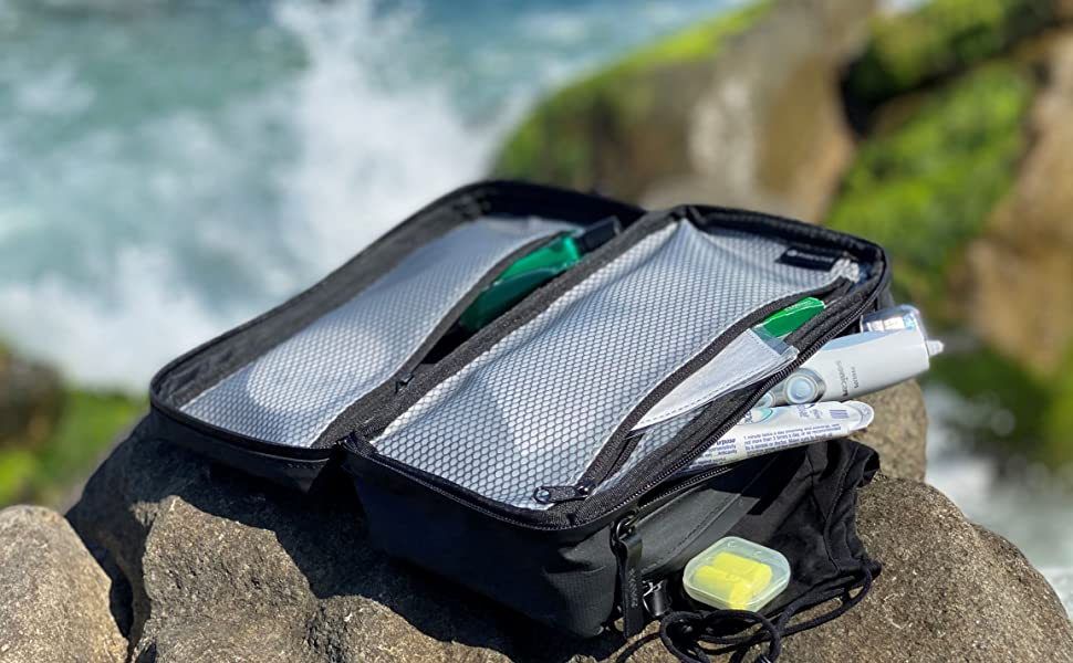 Purevave travel toiletry kit bag outdoor