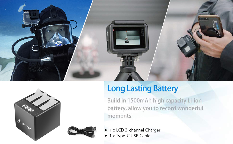 gopro hero 5 charger