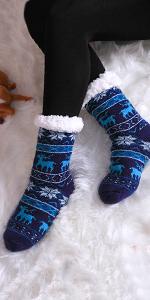 Women's Christmas Slipper Socks