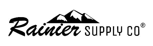 Rainier Supply Co Anchor Chain, Boat Anchor Chain Logo Image