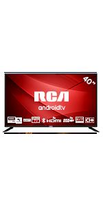 RCA RS43F2 Android TV (43 Pulgadas Full HD Smart TV con Google Assistant), Chromecast Incorporado, HDMI+USB, Triple Tuner, 60Hz: Amazon.es: Electrónica