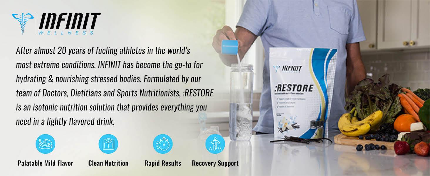 infinit wellness restore hydration