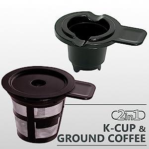 K-CUP & GROUND COFFEE