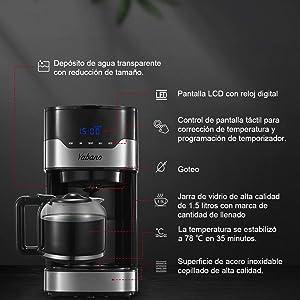 yabano-macchine-da-caffe-americano-con-timer-e-pot