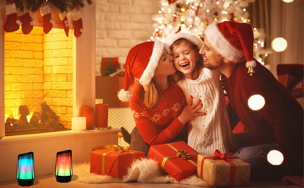 Enjoy Your Wonderful Music Life Go with Crystal Bluetooth Speaker