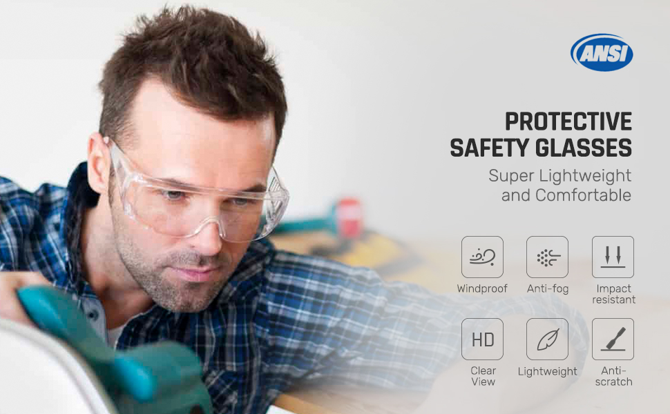 MEIGIX Safety Goggles