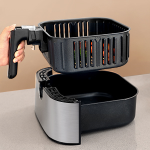 detachable basket& pan