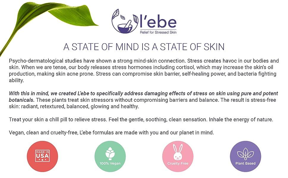 Natural ingredient organic serum moisturizer