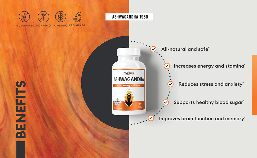benefits ashwagandha all natural safe organic regulate blood sugar