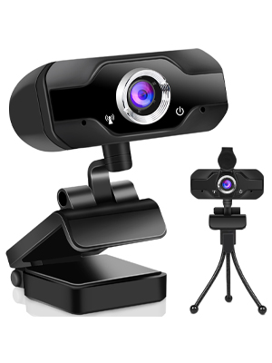 Webcam 1080p con micrófono